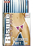 Risque Wear Crotchless- Pink